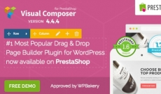 Visual Composer Addons for PrestaShop